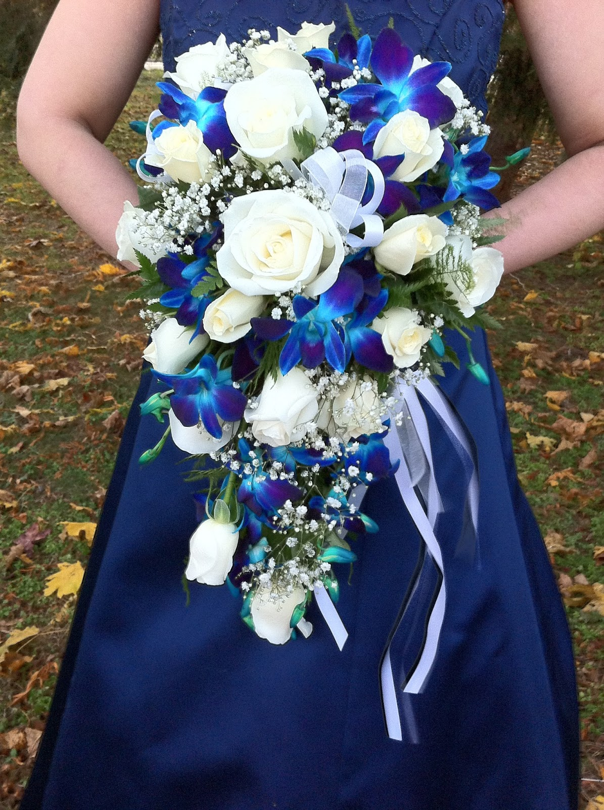Blue Orchid Bridal Bouquet Off 71 Cheap