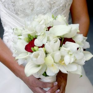 White Cala Bridesmaids Bridal Bouquet