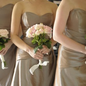 Pink Bridesmaids Bridal Bouquet