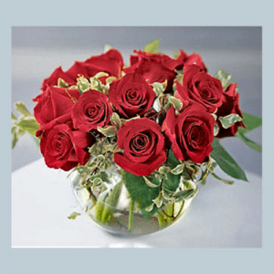 Red Rose Bridal Center Piece